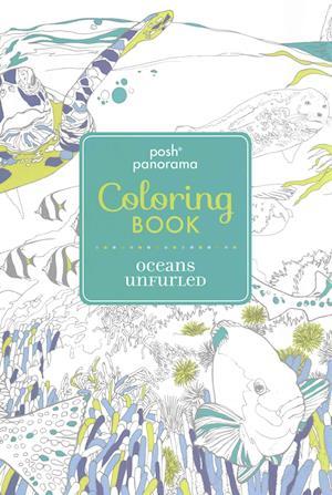 Bog, paperback Posh Panorama Adult Coloring Book af Andrews McMeel Publishing