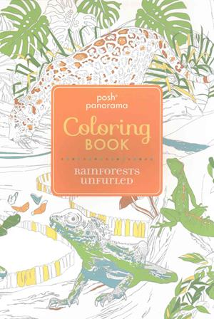 Bog, paperback Posh Panorama Adult Coloring Book af Andrews McMeel Publishing