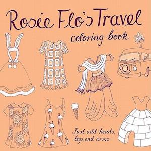 Rosie Flo's Travel Coloring Book af Roz Streeten