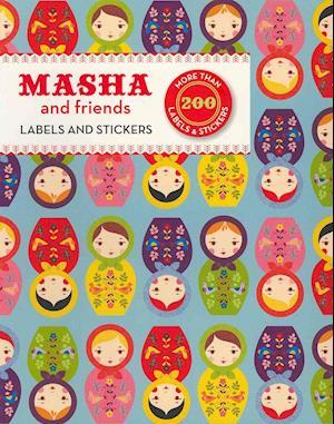 Masha and Friends Labels & Stickers af Suzy Ultman