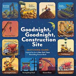 Goodnight, Goodnight, Construction Site Matching Game af Sherri Duskey Rinker