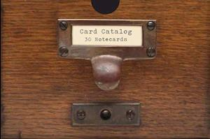Card Catalog: 30 Notecards af Library Of Congress, General Reference and Bibliography Division