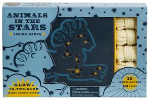 Animals in the Stars Lacing Cards af Robie Rogge