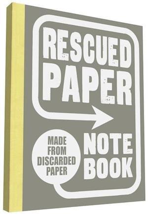 Rescued Paper Notebook, Large af Sukie
