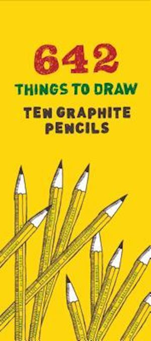 Bog, ukendt format 642 Things to Draw Graphite Pencils af Chronicle Books