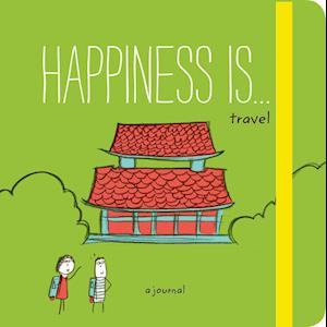 Bog, paperback Happiness Is . . . Travel af Lisa Swerling