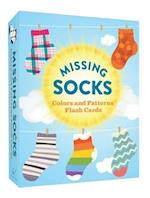 Missing Socks Colors and Patterns Flash Cards