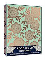 Rose Gold Notecards