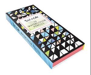 Bog, ukendt format Splash of Color Watercolor Pencils af Liz Libre