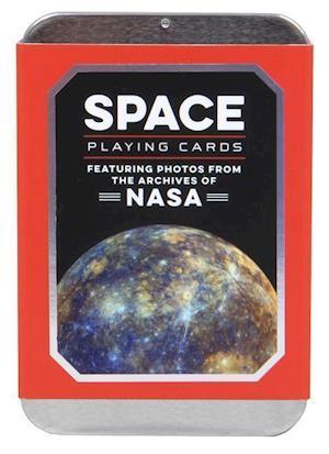 Bog, ukendt format Space Playing Cards af Chronicle Books