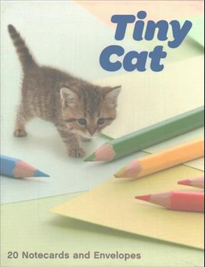 Bog, ukendt format Tiny Cat Notecards af Yoneo Morita