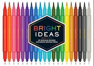 Bog, ukendt format Bright Ideas Double-ended Colored Brush Pens