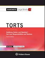 Torts, Keyed to Goldberg Sebok and Ziprusky (Casenote Legal Briefs)