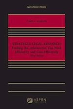 Strategic Legal Research