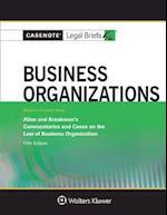 Business Organizations Keyed to Allen and Kraakman (Casenote Legal Briefs)