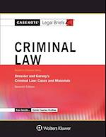 Criminal Law, Keyed to Dressler and Garvey (Aspen Student Treatise)