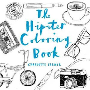 The Hipster Adult Coloring Book af Charlotte Farmer