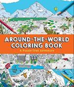 Around-the-world Coloring Book