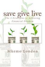 Save Give Live