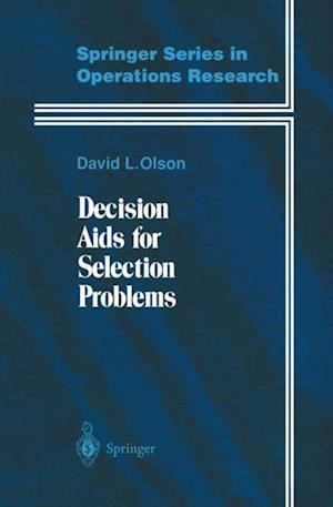 Decision Aids for Selection Problems af David L. Olson