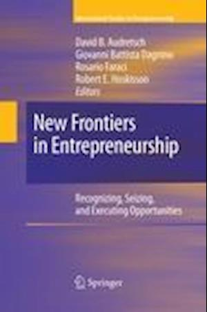 New Frontiers in Entrepreneurship af David B. Audretsch
