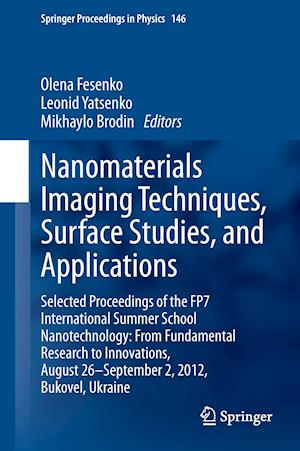 Nanomaterials Imaging Techniques, Surface Studies, and Applications af Olena Fesenko
