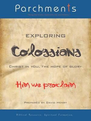 Exploring Colossians af David Henry