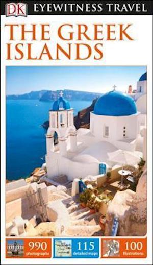 Bog, paperback DK Eyewitness Travel the Greek Islands af DK