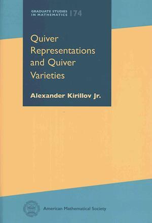 Bog, hardback Quiver Representations and Quiver Varieties af Alexander Kirillov