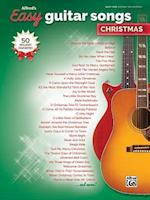 Alfred's Easy Guitar Songs -- Christmas (Alfreds Easy)