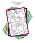 Coloring Creations Greeting Cards(tm) - Serenity (Coloring Creations Greeting Cardstm)