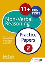 11+ Non-Verbal Reasoning Practice Papers  2 (GP)