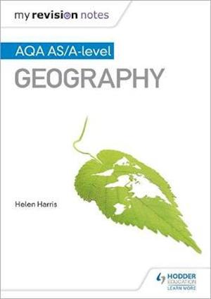 Bog, paperback My Revision Notes: AQA AS/A-Level Geography af Helen Harris