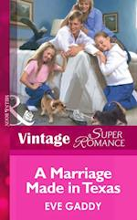 Marriage Made In Texas (Mills & Boon Vintage Superromance) (The Brothers Kincaid, Book 2) af Eve Gaddy