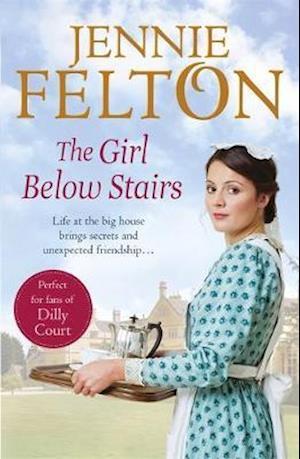 Bog, paperback The Girl Below Stairs af Jennie Felton