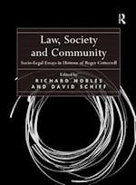 Law, Society and Community af Richard Nobles