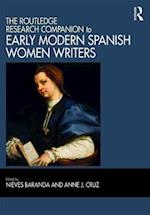 The Ashgate Research Companion to Early Modern Spanish Women Writers