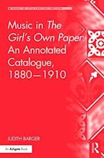 Music in the Girl's Own Paper (Music in Nineteenth-Century Britain)