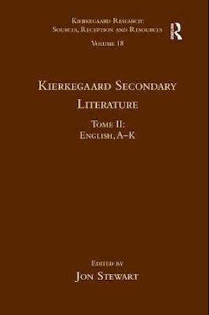 Kierkegaard Secondary Literature af Dr. Jon Stewart