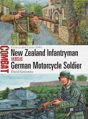 Bog, paperback New Zealand Infantryman vs German Motorcycle Soldier af David Greentree