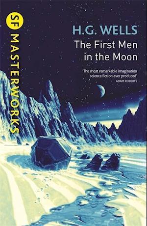Bog, paperback The First Men in the Moon af H. G. Wells