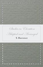 Studies in Elocution - Adapted and Arranged