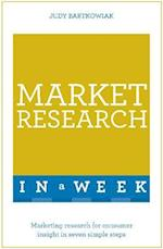 Teach Yourself Market Research in a Week (Teach Yourself)