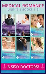 Medical Romance June 2016 Books 1-6: The Prince and the Midwife / His Pregnant Sleeping Beauty / One Night, Twin Consequences / Twin Surprise for the Single Doc / The Doctor's Forbidden Fling / The Army Doc's Secret Wife (Mills & Boon e-Book Collections) af Charlotte Hawkes