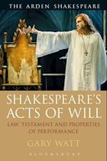Shakespeare's Acts of Will