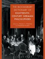 Bloomsbury Dictionary of Eighteenth-Century German Philosophers
