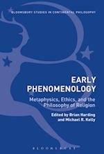 Early Phenomenology (Bloomsbury Studies in Continental Philosophy)