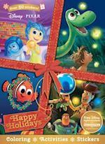 Disney Pixar Happy Holidays