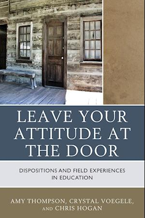 Bog, paperback Check Your Attitude at the Door af Amy Thompson