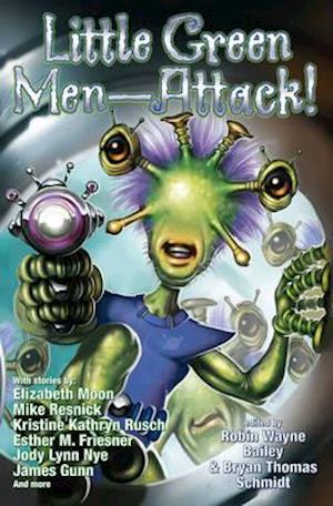 Bog, paperback Little Green Men - Attack! af Bryan Thomas Schmidt